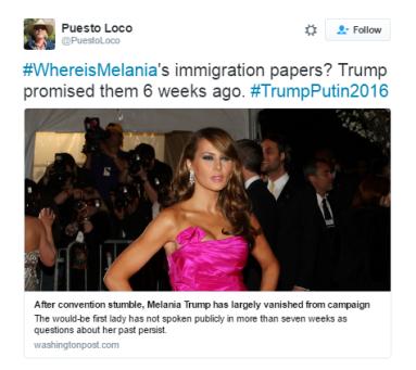 melania-tweet